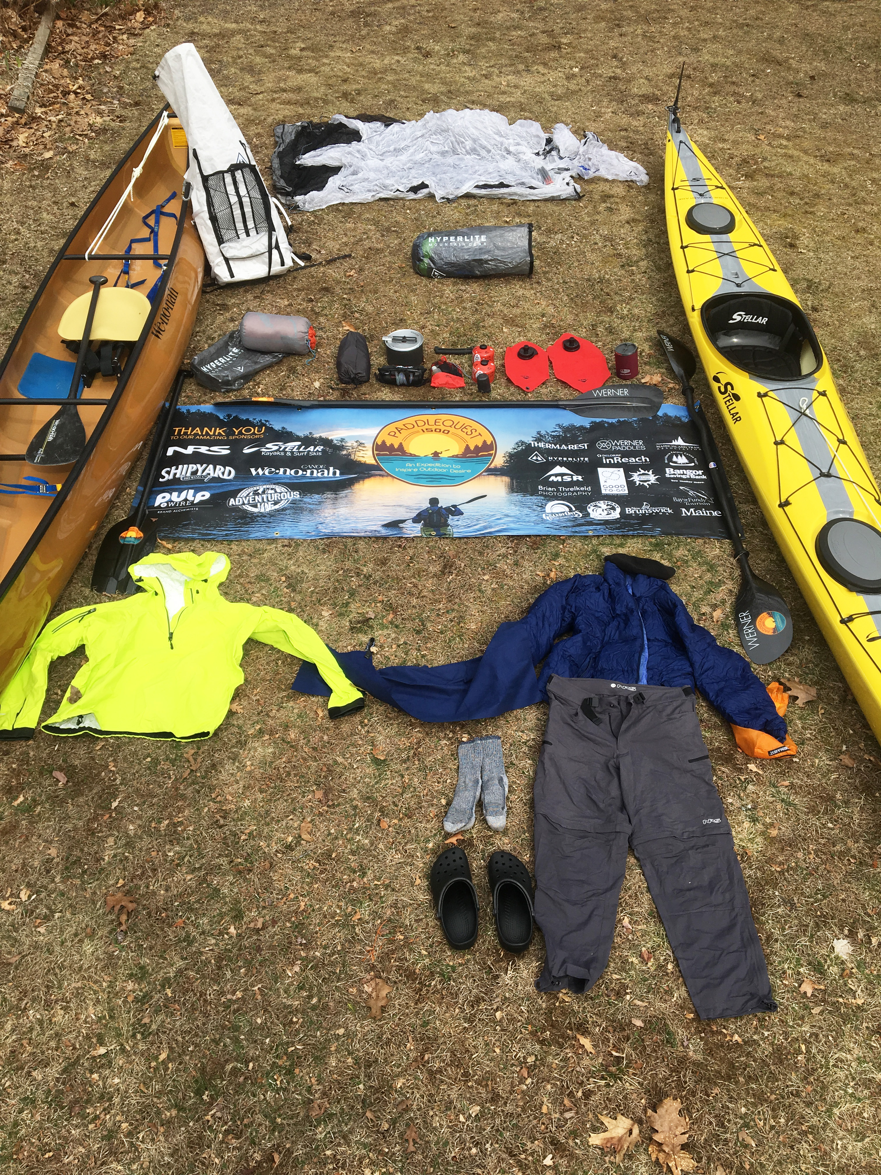 Paddlequest 1500 Expedition Paddling Amp Camping Kit Paddle Quest 1500
