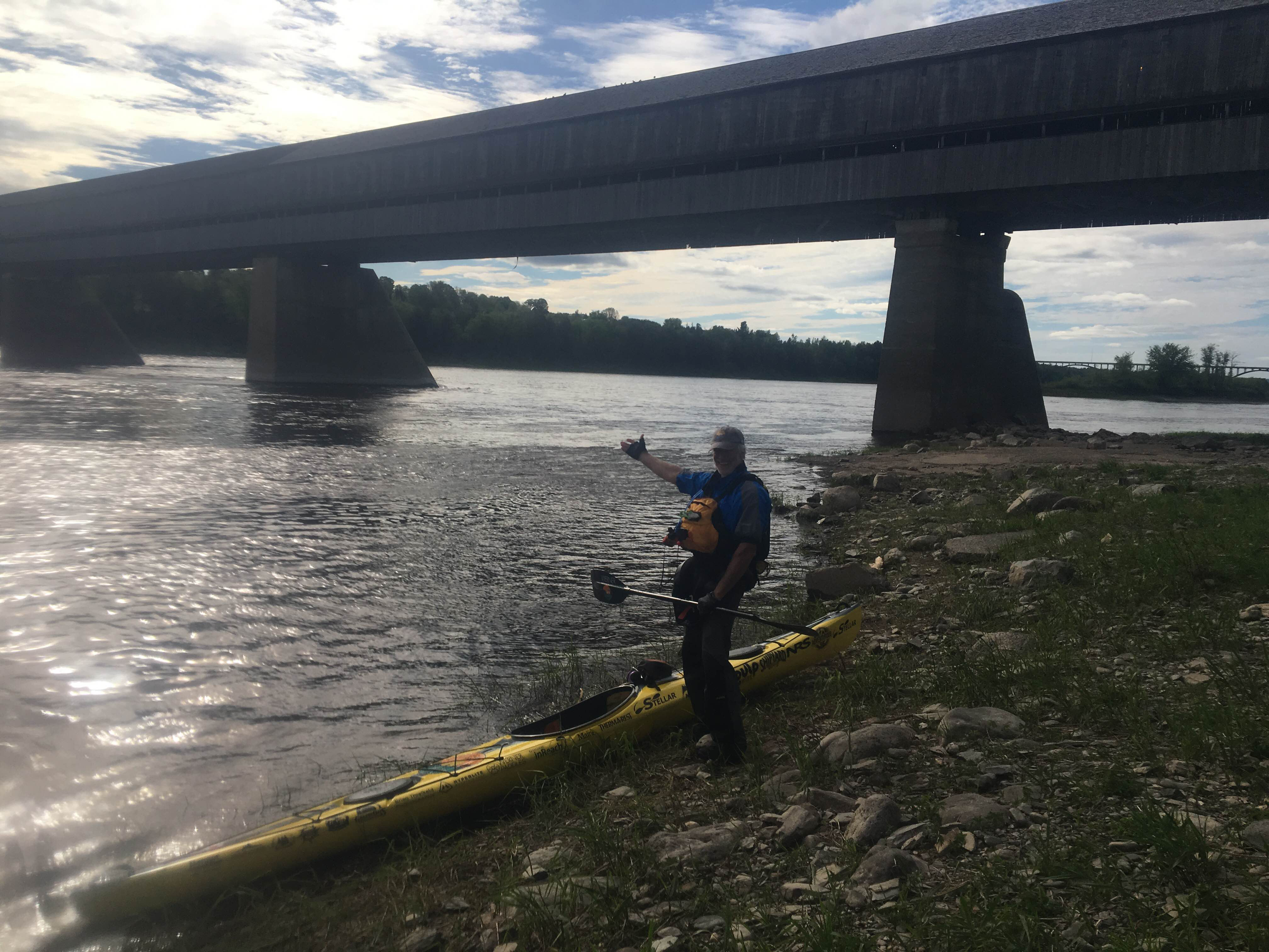 Grand Falls to Fredericton, New Brunswick - Paddle Quest 1500